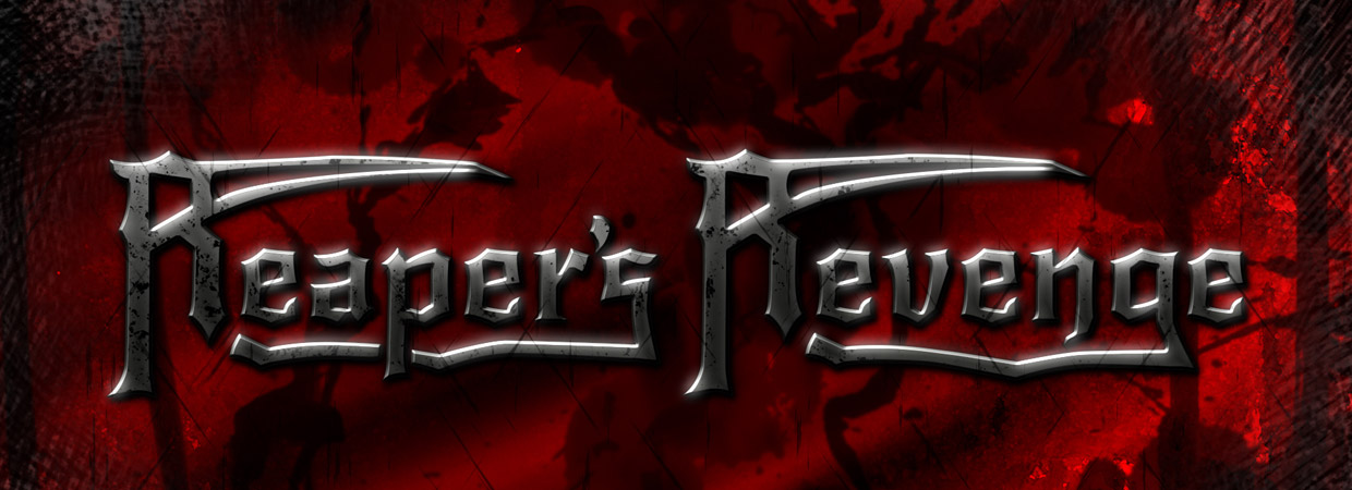 Reaper's Revenge Logo in red